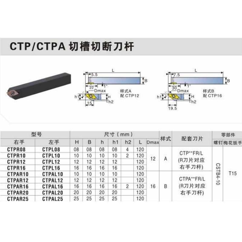 10PCS DESKAR CTP07FR CTP07FRN CTP07FRN CTP10FRN CTP15FR CTP15FRN CTP20FR CTP20FRN LF6118 Walking Machine Turning Tools Parts