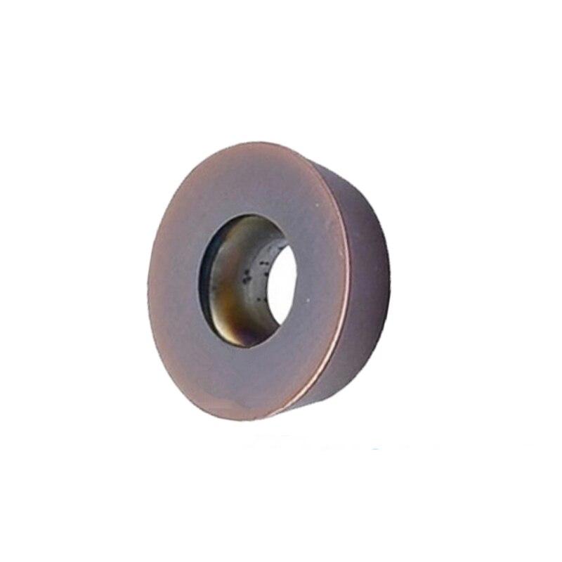 50pcs Carbide Milling Insert RDKW1204MO YBG205 Round Insert R6 Cnc Lathe Tool Plate RDKW1204
